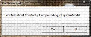 2. VbScript | Message Box: Constants