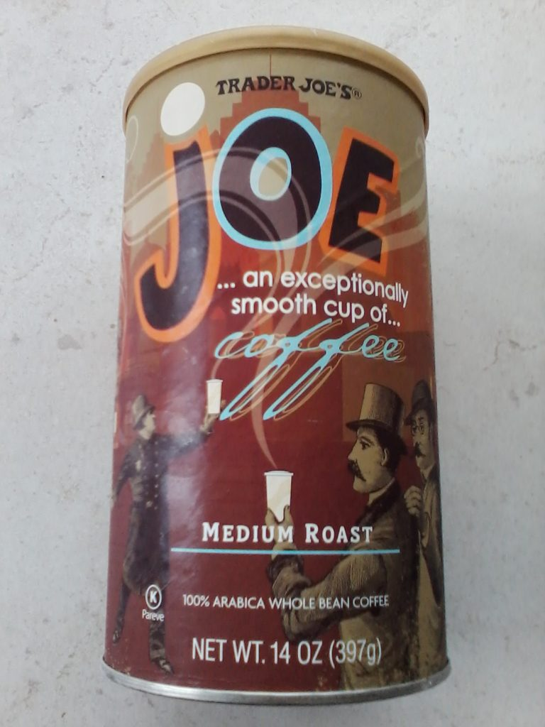 Trader Joe medium roast
