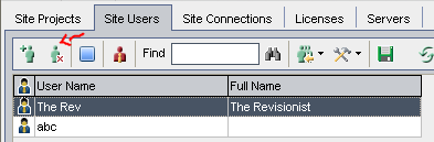 9_Deleting Site User in the ALM Quality Center Application
