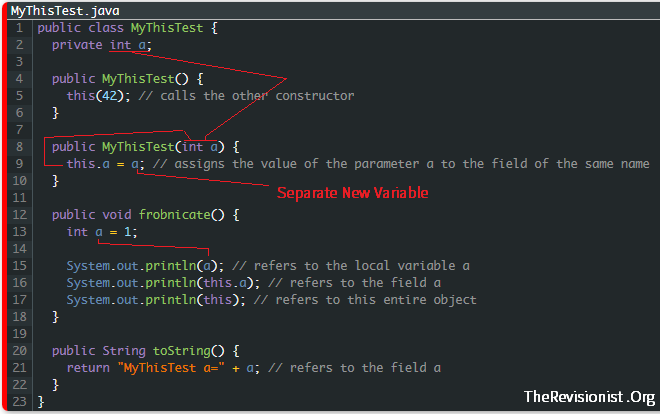 Java Showing how this keyword works 2_fixed