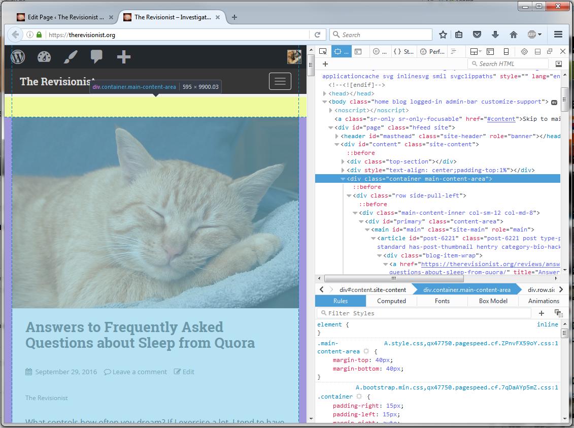 main-content-area-of-website-inspect-element
