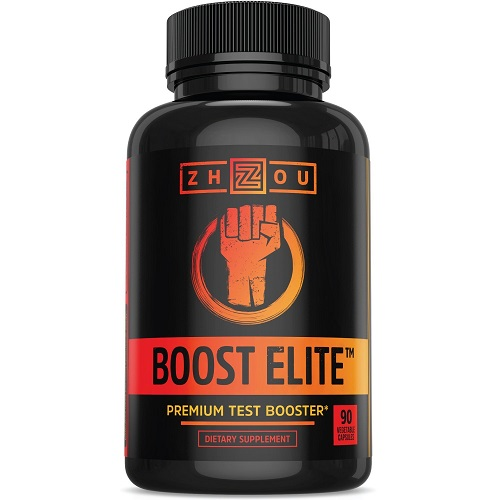 Zhou dietary supplement boost elite premium testosterone booster