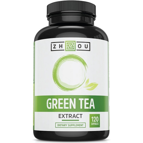 Zhou dietary supplement green tea extract