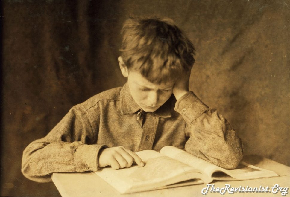 thinking study focus reading a book student vintage photo