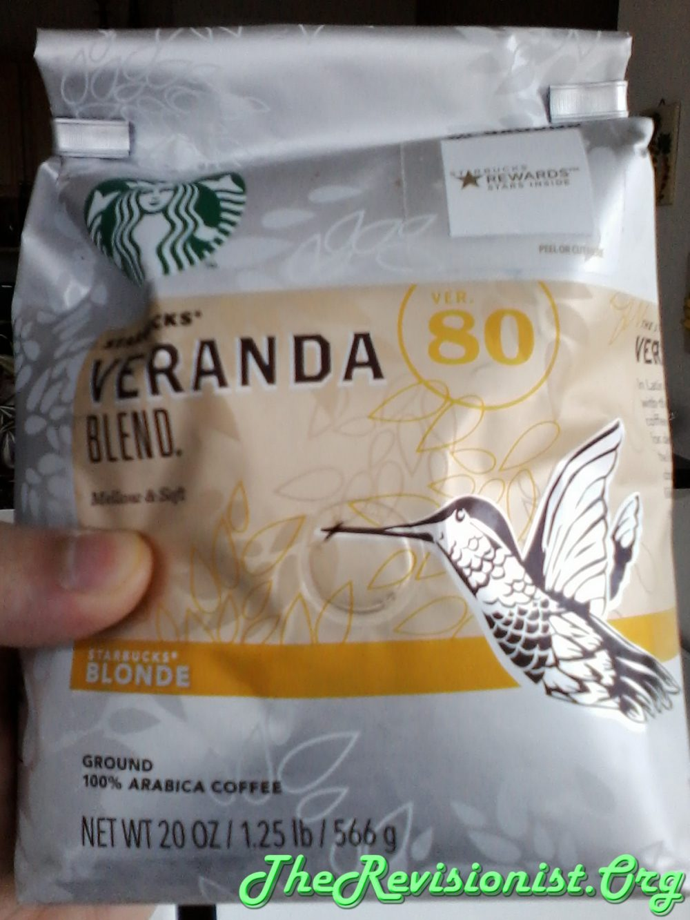 Review of Starbuck's Veranda Blend Blond Roast Coffee