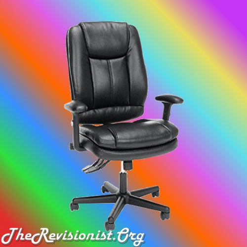 Essentials High-Back Leather Office Computer Chair