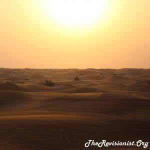 Hot Desert Sun