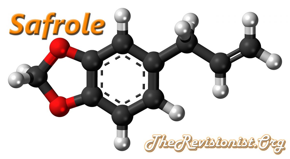 3D image showing Safrole Chemical Structure